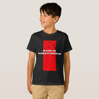 Kids Customizable Made in Saskatchewan T-shirt
