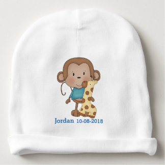 Kid's Cute Baby Monkey Boy Baby Beanie