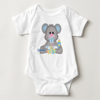 Kid's Cute Baby Mouse Baby Bodysuit