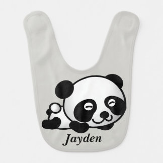 Kid's Cute Baby Panda Bear Bib