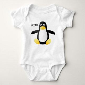 Kid's Cute Baby Penguin Baby Bodysuit