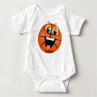 Kid's Cute Funny Basketball Baby Bodysuit