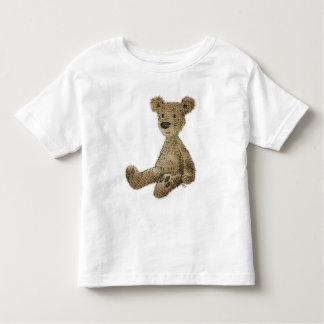 Kid's Cute Funny Scruffy Teddy Bear Toddler T-Shirt