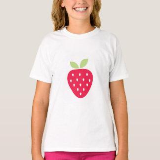 Kids Cute Strawberry Valentine Shirt