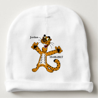 Kid's Cute Tiger Smiling Baby Beanie