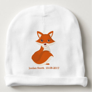 Kid's Cute Woodland Fox Baby Beanie