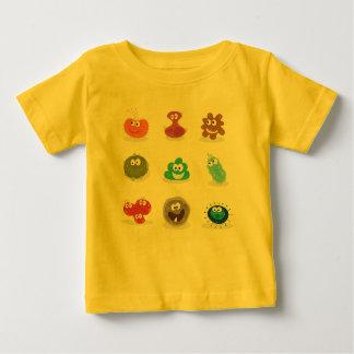 KIDS designers t-shirt : Viruses cute