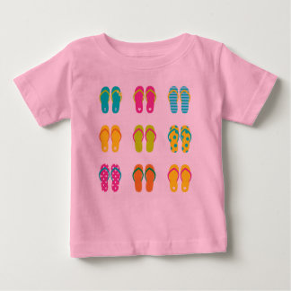 Kids designers tshirt : Beach shoes