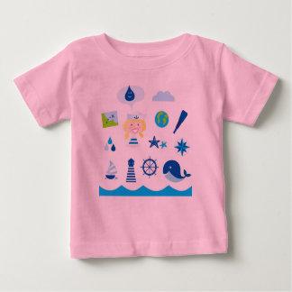 Kids designers tshirt : Mare edition