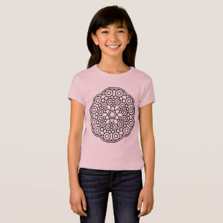 Kids designers tshirt with Mandala