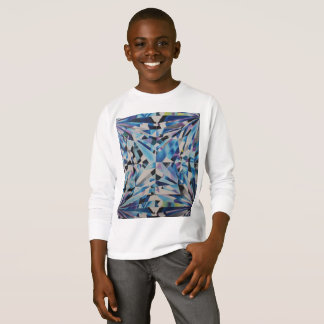Kids' Diamond Long Sleeve T-Shirt
