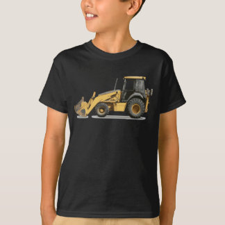 Kids Dig This Digger - Cool Construction Excavator Tshirt