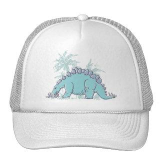 Kids Dinosaur Stegosaurus illustrated hat