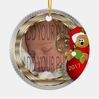 Kid's Diy Christmas Photo Christmas Ornament