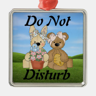 Kids Do Not Disturb Ornament
