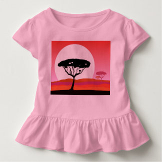 Kids dress PINK safari