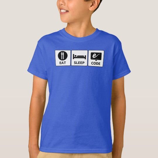 Kid's Eat, Sleep, Code T-shirt