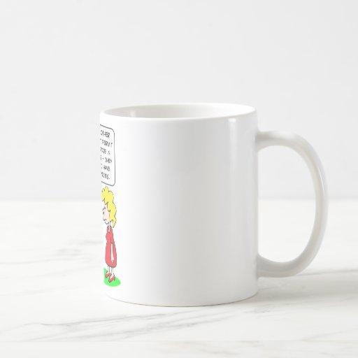 kids elitist tendencies play coffee mugs