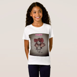 Kid's Fairy Drawing T-Shirt