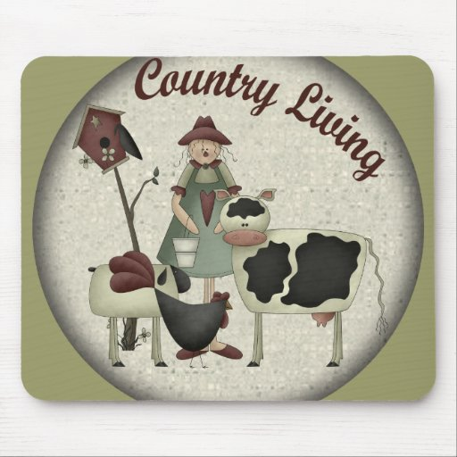 Kids Farm Animals T Shirts and Gifts Mouse Mats