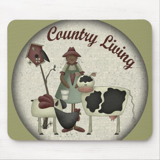 Kids Farm Animals T Shirts and Gifts Mouse Pads