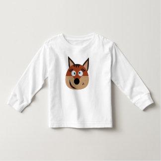 Kids female fox jumper t-shirts