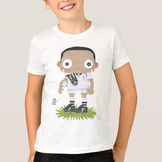 Kids Fiji Rugby T-Shirt