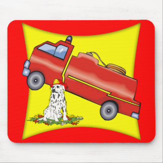 Kids Fire Fighter T Shirts and Gifts Mouse Pad