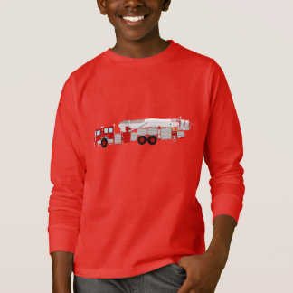 Kids Fire truck sweatshirt.... T-Shirt