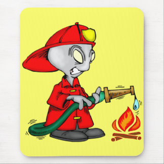 Kids Firemen Tee Shirts and Kids Gifts Mouse Pad