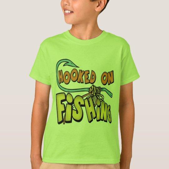 Kids fishing t shirts and kids fishing gifts for Toddler fishing shirts