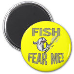 Kids Fishing T Shirts and Kids Fishing Gifts Magnet