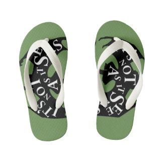 Kids flip flops (The Great Animal)