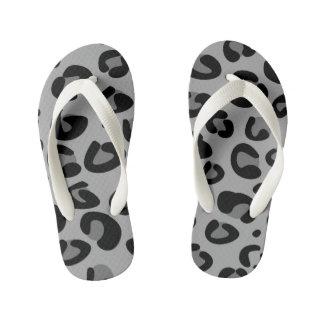 Kids flip - flops with tiger pattern flip flops