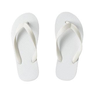 Kids Flop Flops, White Flip Flops
