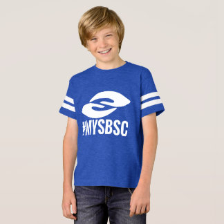 Kids Football Jersey #mySBSC T-Shirt