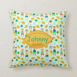 KIDS FOOTBALL PILLOW, Football Theme Cushion