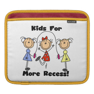 Kids For More Recess Sleeve For iPads