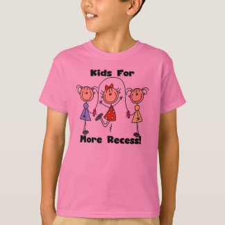 Kids for More Recess T-Shirt