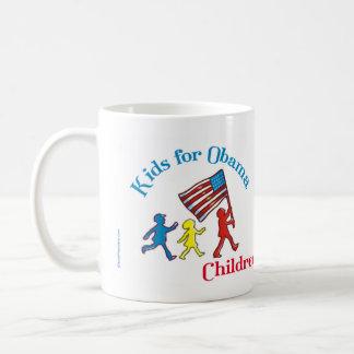 Kids for Obama Mug