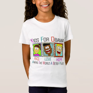 KIDS FOR OBAMA T-Shirt