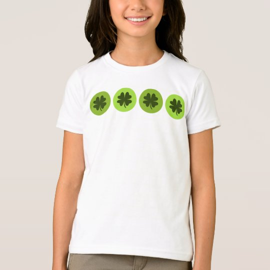 Kids Four Leaf Clover Shirt
