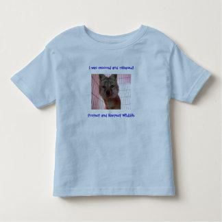 kids fox rescued shirt