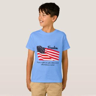 Kids' Freedom Flag Hanes TAGLESS® T-Shirt