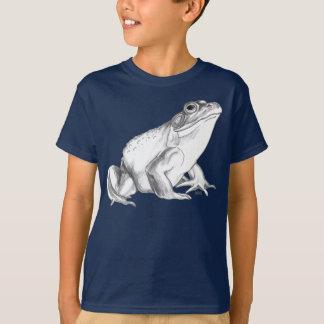 Kid's Frog T-shirt Bullfrog Art T-shirt Cool Frog