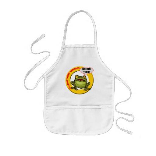 Kids Frog T Shirts and Kids Frog Gift Apron