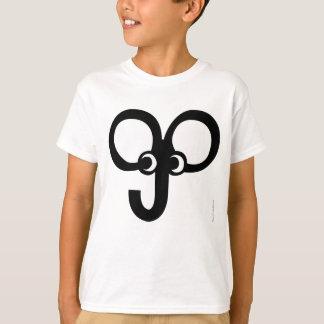 Kids Funny Elephant Face T-Shirt