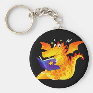 Kid's Funny Halloween Dragon Key Ring