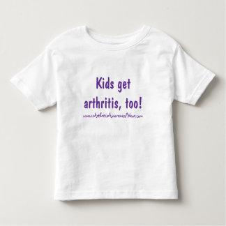 Kids get arthritis, too! tee shirt