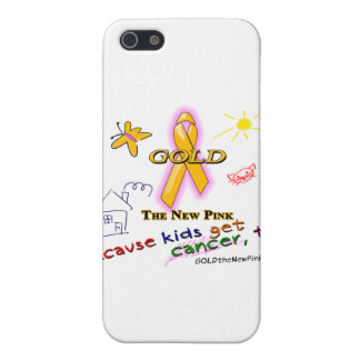 Kids Get Cancer, Too! iPhone 5 Cases